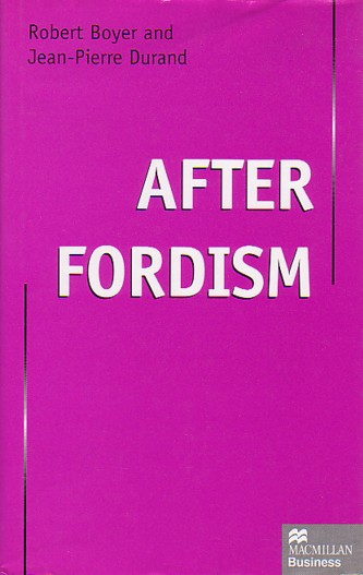post fordism system Debate is about the extent and nature of these changed conditions, how we can understand these processes, and what the implications are for political strategy post-fordism, like postmodernism, is grounded in the sense of dislocation and unease brought about by the rapid changes in the world order.